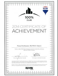 Achievement 2014